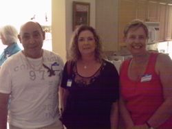 Renee & Steve from Coral Springs with Roberta