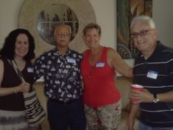 Annie & Ben from Lake Worth with Roberta & Dale
