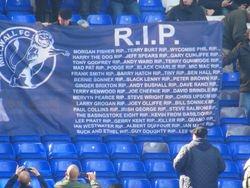 Millwall game April 2013