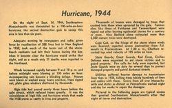 1944 Hurricane Southeastern MA Inside Cover