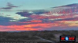 Morning Sunrise Bass Creek Road