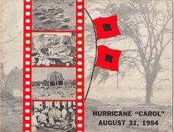 Aerovox 1954 Hurricane Carol Photo Album Cover