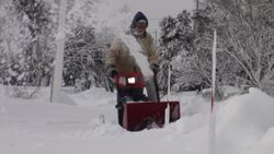 Easy snow removal