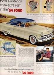 The Cars of 1954