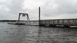 Floating Dock at Hoppy's Landing