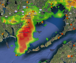 Radar During Impact