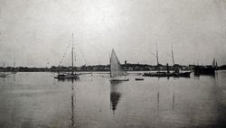 New Bedford Harbor c1895