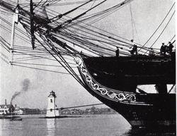 USS CONSTITUTION c1933