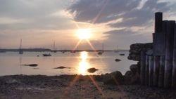 Sunset July 7, 2011