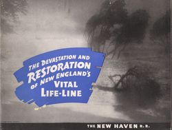 New Haven Railroad Photo Album Cover