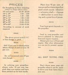 The Thompson Propeller Shop 1937