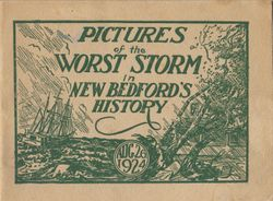 1924 Pictures of The Worst Storm in New Bedford's History
