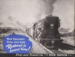 1938 Hurricane New Haven Railroad
