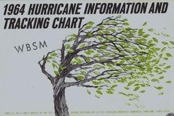 1964 WBSM Hurricane Tracking Chart