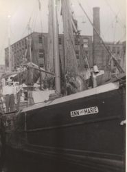 Classic New Bedford Dragger c1958