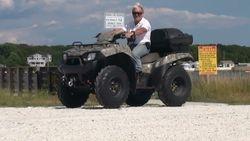 Kawasaki SkyWarn ATV