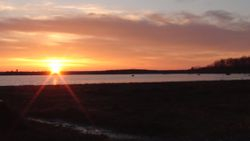 West Island Sunrise April 30, 2013 5:41AM