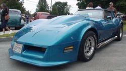 Late Model Corvette
