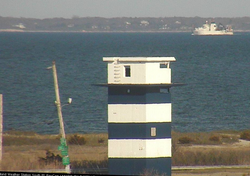 NOAA Ship Henry B. Bigelow passes through Buzzards Bay