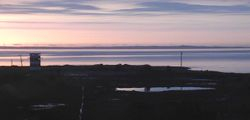 A Pink Sunrise at Town Beach February 2013