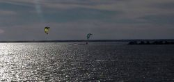 Tranquility in Kite Surfing