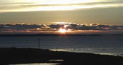 January 21, 2014 sunrise