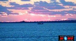 Sunset Monday, December 16, 2013