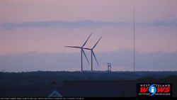 Fairhaven's Wind Turbines 4 Miles Away
