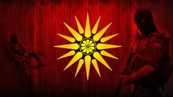 Macedonian Army Art - Makedonska Armija i Sonceto od Kutles