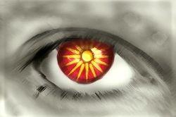 Macedonian Flag Eye - Makedonsko Zname Oko