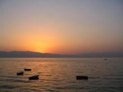 Ohrid Sunset - Macedonia