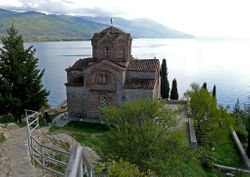 St. Jovan Kaneo Monastery - Ohrid, Macedonia
