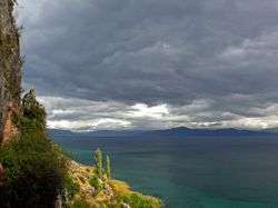 View of Lake Ohrid - Macedonia