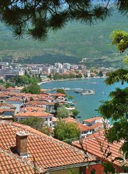 Ohrid City View - From the Old Part of Town