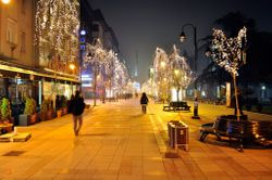 Skopje at Christmas
