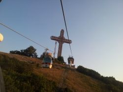 Tallest Cross in the World - Millenium Cross Skopje