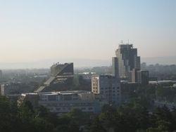 Skopje View from Kale Fortress