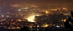 View from Millenium Cross Skopje
