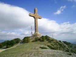 Tallest Cross in the World - Millenium Cross Skopje