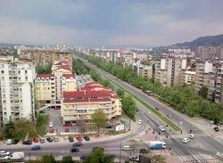 Skopje Partizanska Boulevard