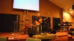 Leon Monty plays at Freedom Bikers Night