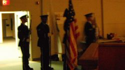 The Honor Guard enters....
