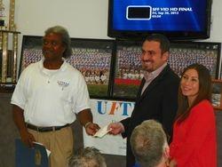 UFTFAA Donation To The SEBASTIAN FERRERO Foundation