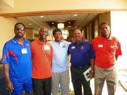 UF Football & T&F Pioneers with UFTFAA President