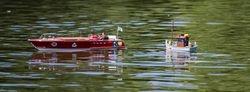 Keith's Rivarama rescues John's fishing boat.