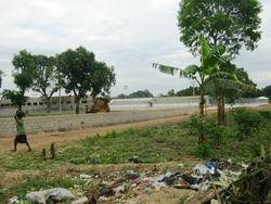 New football pitch in neighbourhood