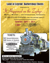 2014 Annual Show Flyer