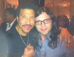 Nathan with Lionel Richie, Nashville (02 Mar 11)