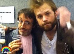 Caleb & Sean Cliver (Jackass Producer) | EMAs - 07 Nov 10