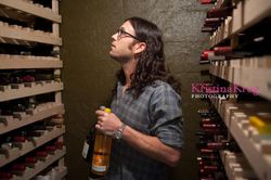 Nathan photographed for the Wine Spectator Magazine (2011)